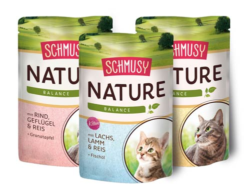 Schmusy-Katzenfutter