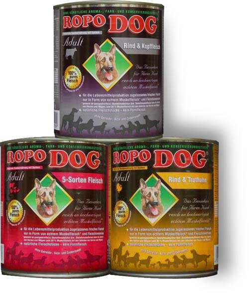 ropodog-hundefutter